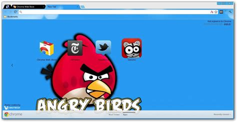 theme google chrome red angry birds google chrome themes
