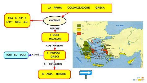 le guerre persiane mappa concettuale mappa concettuale prima colonizzazione greca