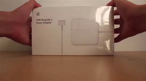 Charger Macbook Air Apple Magsafe 45w Model 1374 Original unboxing apple macbook air 11inch power adapter 45w magsafe 2 model a1436
