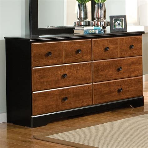 zenith steelwood 6 drawer dresser efo furniture outlet