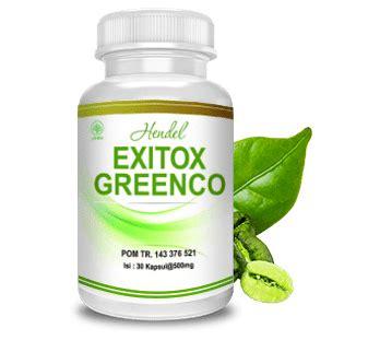 Green Coffee Untuk Diet exitox green coffee bean hendel kapsul pelangsing