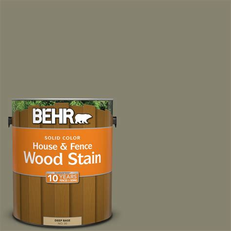 behr 1 gal sc 144 gray seas solid color house and fence wood stain 03001 the home depot