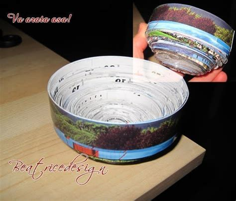 How To Make A Bowl Out Of Paper - how to make paper bowls 183 how to make a paper bowl 183