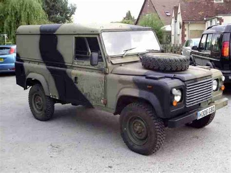 military land rover 110 1991 land rover defender 110 ex army ffr car for sale