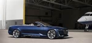 Concept Cadillac Convertible Cadillac Escala Concept At La Auto Show Gm Authority