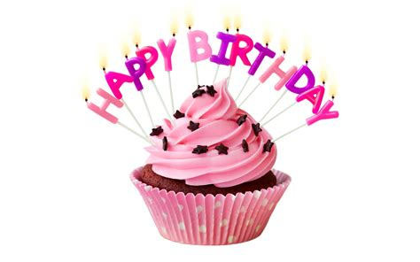 fondos de pantalla feliz cumpleanos pastel rosa velas