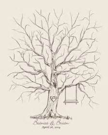 Wedding Family Tree Template by 25 Best Ideas About Fingerprint Wedding On