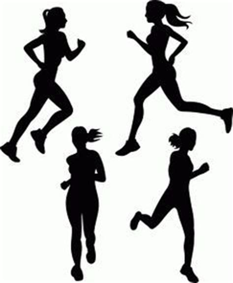 athletics silhouette vector sports running graphics