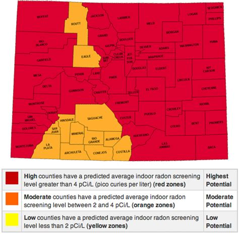 Find In Colorado Radon In Colorado Rds Environmental