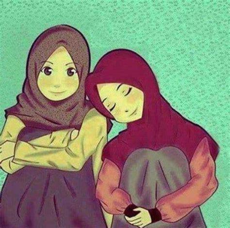 doodle dini best friends until jannah that u promise to me insyaallah