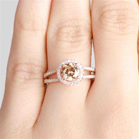 Verlobungsring Rotgold by Cheap Gold Engagement Rings Wedding And Bridal