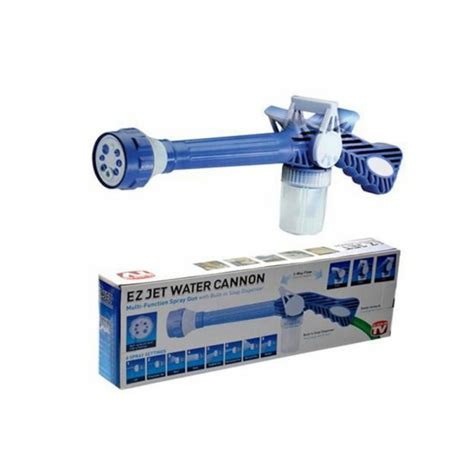 Ez Jet Water Cannon Turbo Spray ez jet water cannon 8 in1 turbo water spray gun jet gun