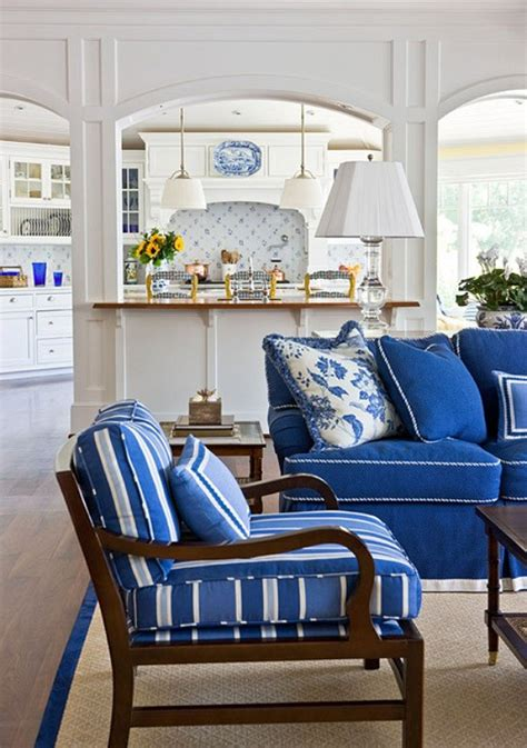 blue and white living room ideas inspiration on the horizon coastal blue white decor