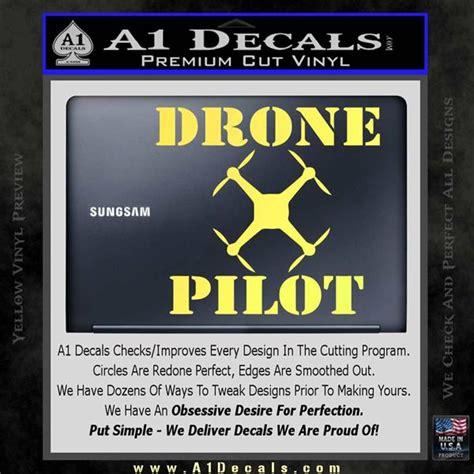 Stiker Drone Pilot drone pilot sq decal sticker 187 a1 decals