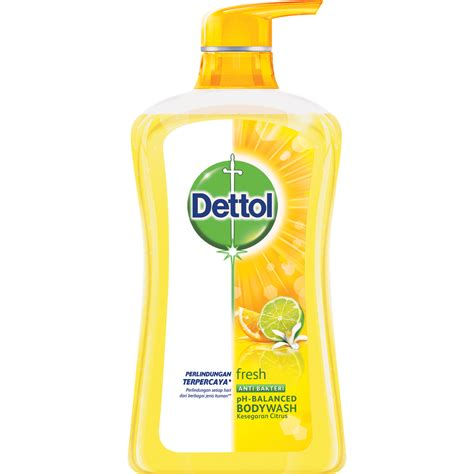 Sabun Cair Dettol dettol anti bacterial fresh bodywash dettol fresh
