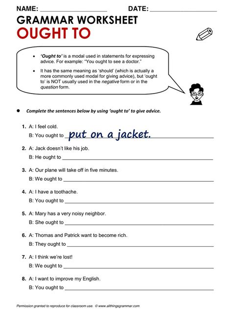 grammar worksheets for teachers kidz activities