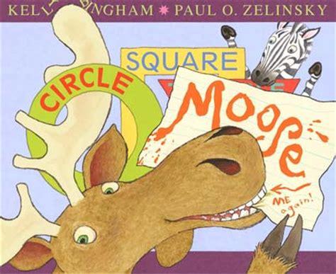 Buku Anak Circle Square Moose paul o zelinsky z is for moose