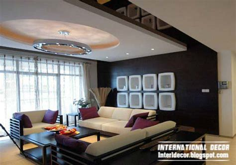 Design Of False Ceiling In Living Room 10 Unique False Ceiling Modern Designs Interior Living Room International Decoration