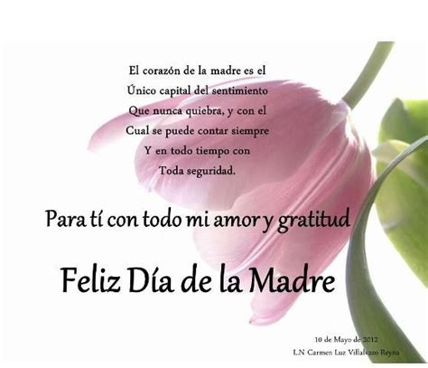 feliz dia de las madres card template 17 best images about happy s day on
