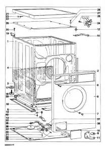 parts manual miele w 715 w715 novotronic washing
