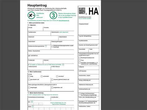 Vorlage Antrag Home Office Hartz Iv Antrag Arbeitslosengeld Ii Vorlage Pdf Chip