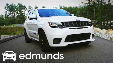 trackhawk jeep white 2018 jeep grand trackhawk review test drive