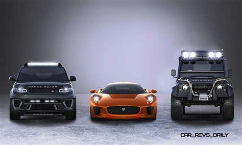 land rover spectre jaguar land rover 007 spectre cars