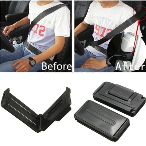 seat belt comfort clips pair car auto seat adjustable comfort safety belt stopper