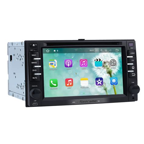 android stereo android 7 1 aftermarket car stereo for 2003 2009 kia spectra with touchscreen bluetooth radio