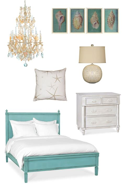Beach Themed Home Decor Ideas by Coastal Beach Bedroom Cottage Home 174
