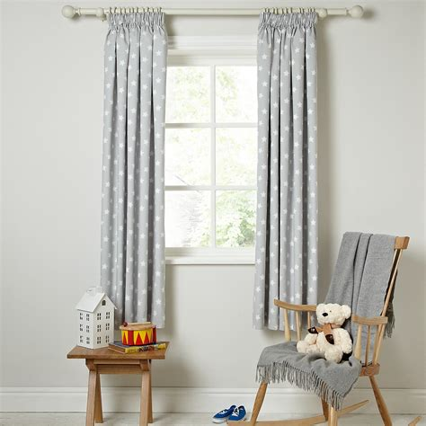 Nursery Curtains With Blackout Lining White Curtains With Blackout Lining Curtain Menzilperde Net