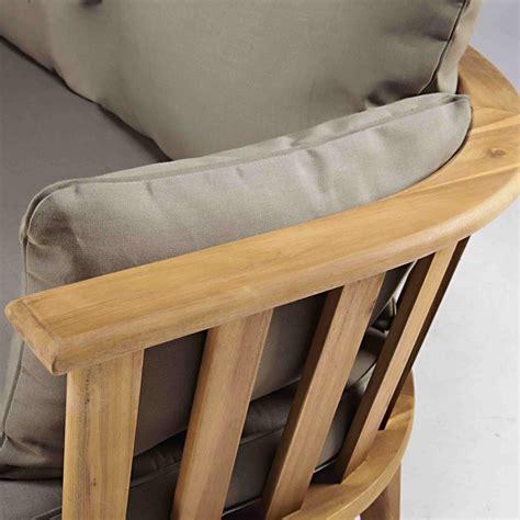 divanetto legno divanetto da giardino 2 3 posti in legno massello di