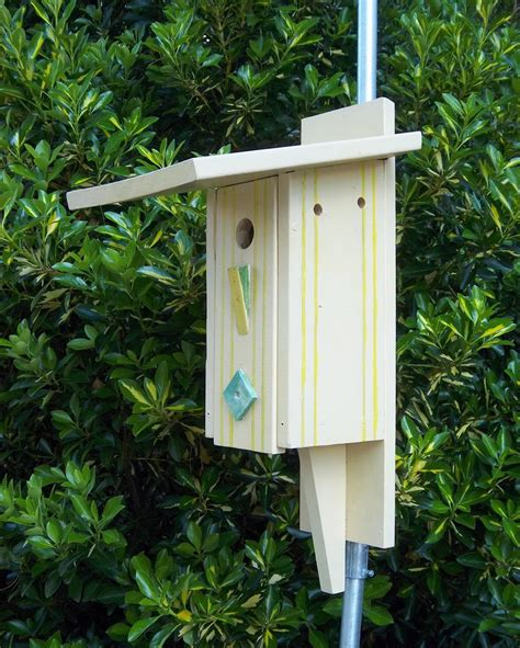 painting blue bird houses birdcage design ideas