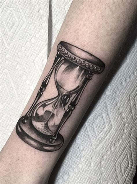 hourglass tattoo inkstylemag