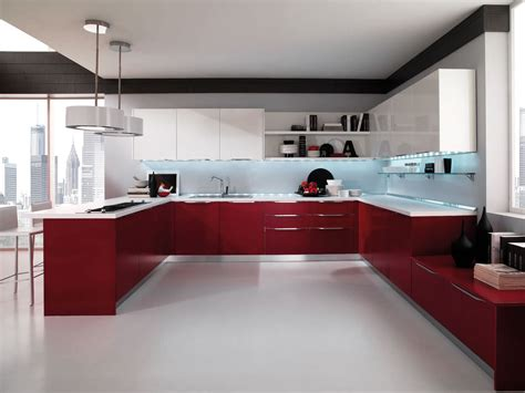 Gloss Kitchen Designs | high gloss kitchen cabinet design ideas 2015 kitchen