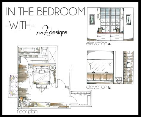 bedroom design drawings interior design details images
