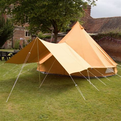 bell tent awning bell tent canopy awning tangerine orange