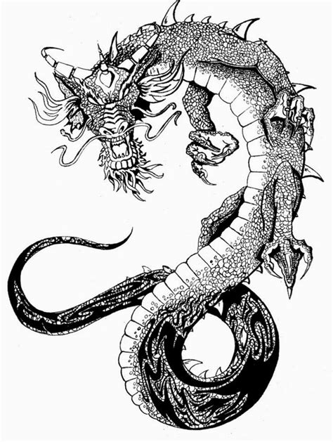 free dragon tattoo designs to print 8 best images of stencils printable