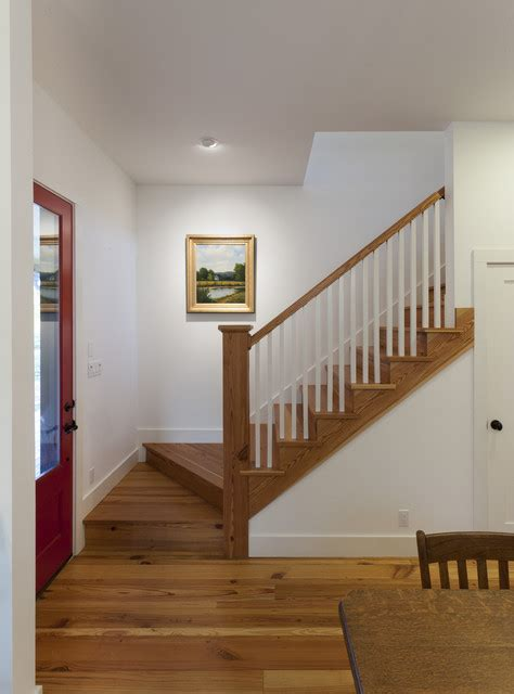 Painted Bathrooms Ideas by Farmhouse Stair Farmhouse Staircase Austin By
