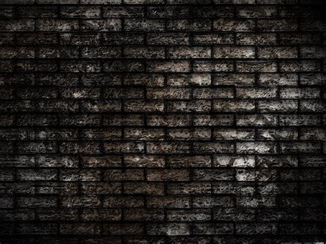 Dark Brick Wall Background by Grunge Brick Wall Background Psdgraphics