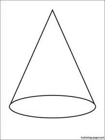 cone coloring coloring pages