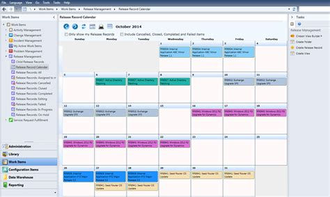 Release Calendar Turbo Charge Release Calendar W Scsm Apps By Ciresoncireson