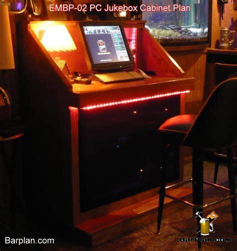 Digital Jukebox Cabinet Plans