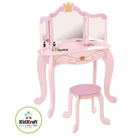Kidkraft Princess Vanity Stool 76123 by Kidkraft Princess Vanity Stool 76123