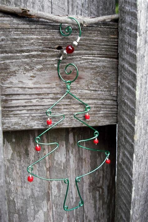 handmade christmas tree ornament with ornament hanger 8