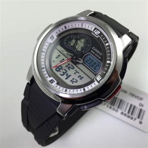 Casio Termometer s casio analog digital thermometer aqf 102w 7bv aqf102w 7bv 4971850869979 ebay