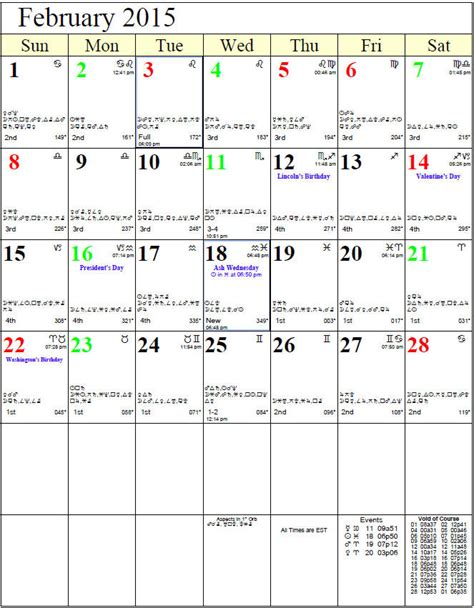 Astrological Calendar 2015 2015 Personal Daily Guidance And Universal Predictions For