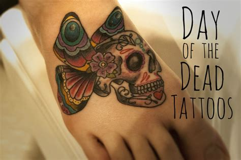 day of the dead tattoos meaning mexican day of the dead and sugar skull tattoos for