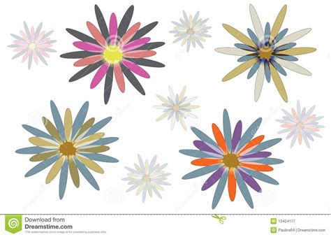 disegni astratti fiori disegni astratti fiore fotografia stock libera da
