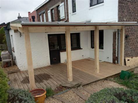 Revetement Patio Impermeable by Couverture Terrasse Cabanade Constructeur Batisseurs